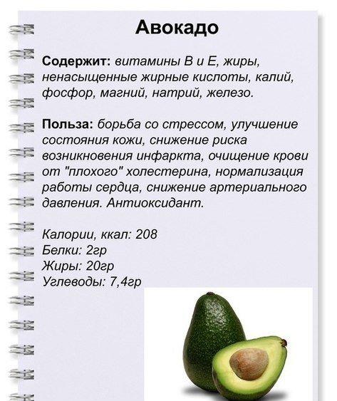 Сколько авокадо можно съедать в день, дневная норма потребления плода