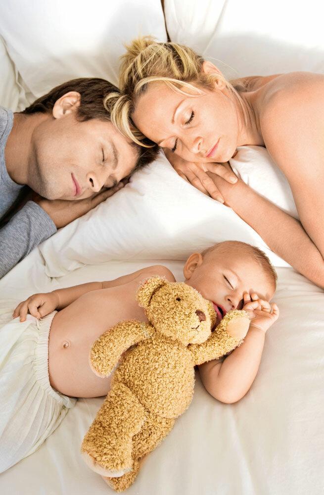 Совместный сон с ребенком: за и против | любящая мама
