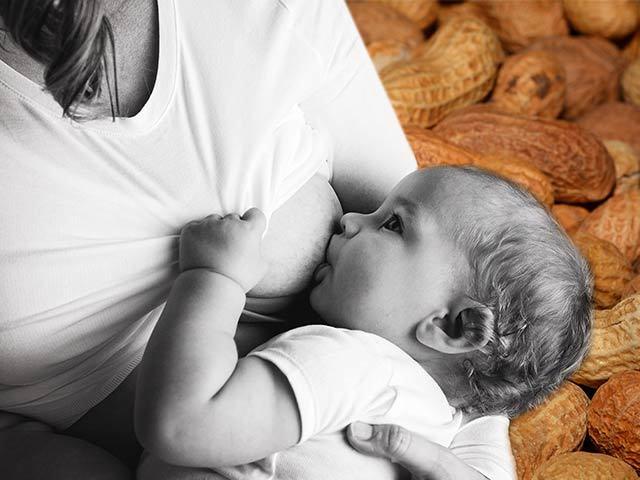 Арахис при грудном вскармливании: можно ли этот продукт маме при гв в первый месяц после родов, разрешено ли кушать соленым и жареным, когда давать ребенку?