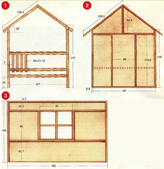 Детский игровой домик в квартире и на даче: обзор 7 видов и 5 правил выбора, видео