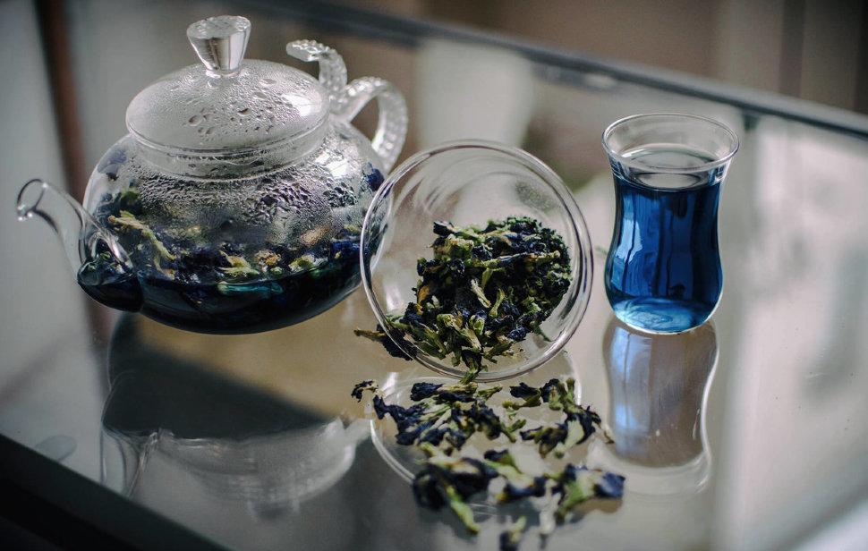 Вся правда о чае чанг шу (пурпурный или синий чай)