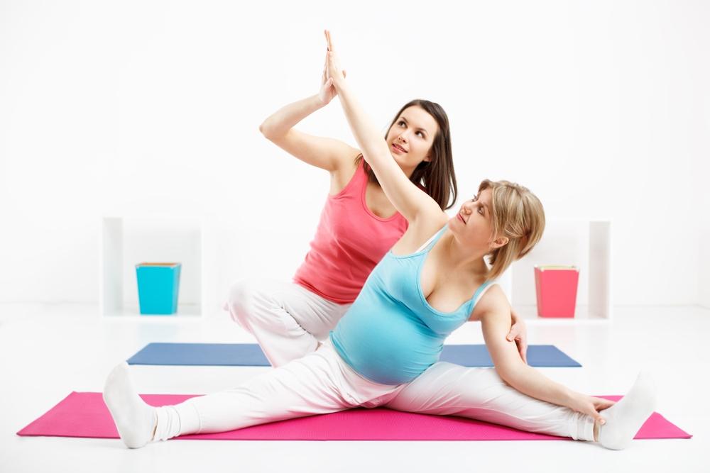 Подготовка к родам – упражнения для беременных