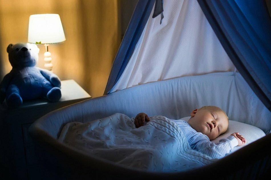 Как уложить ребёнка спать на всю ночь