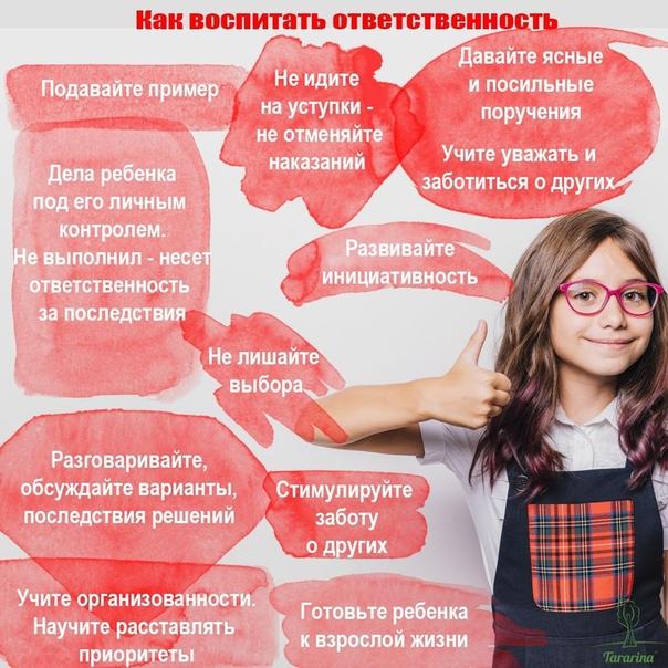 Как воспитать в ребенке ответственность и самостоятельность