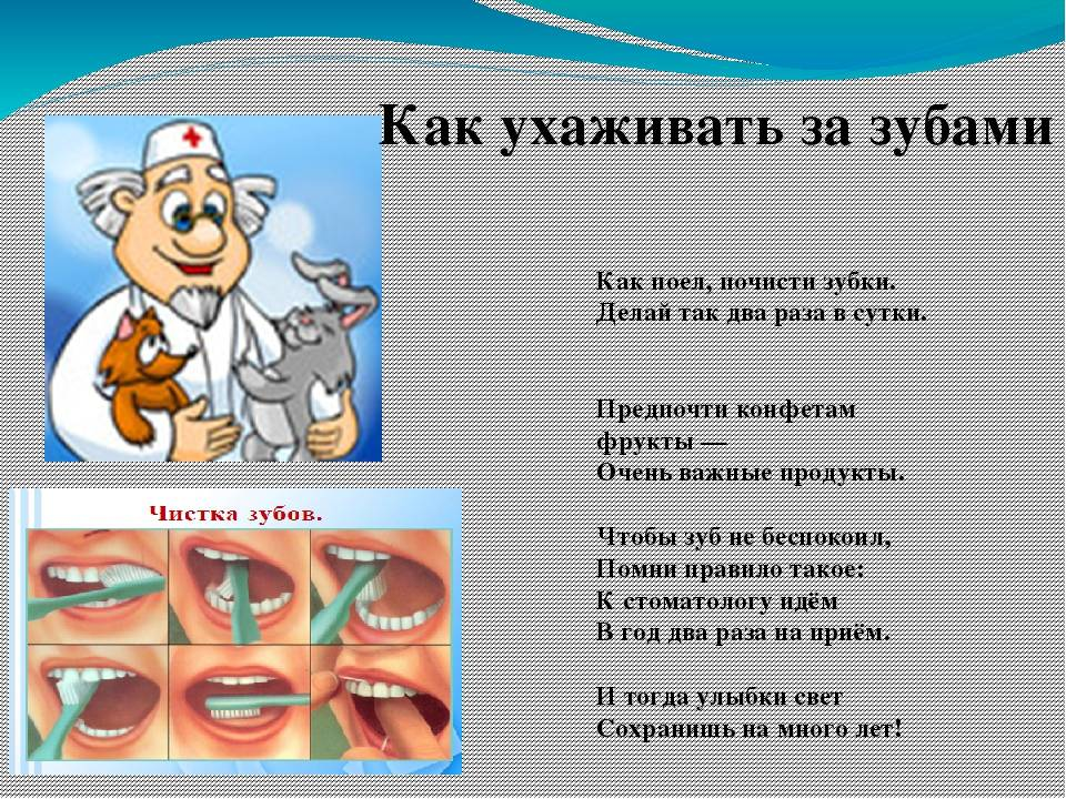 Особенности возрастного развития зубов у детей