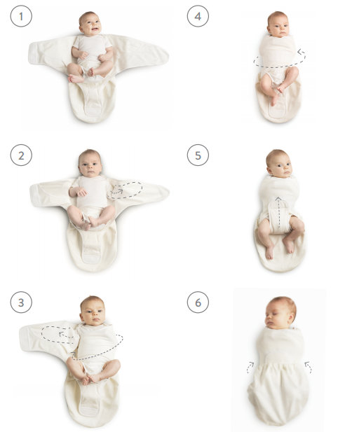 До какого возраста пеленать ребенка?