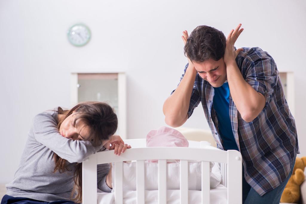 Если ребенок плачет