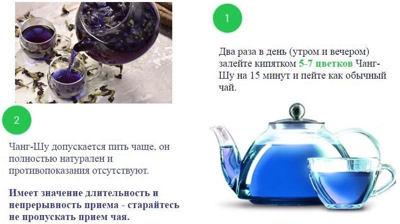 Пурпурный чай чанг-шу для похудения: отзывы, инструкция, цена, купить в аптеке