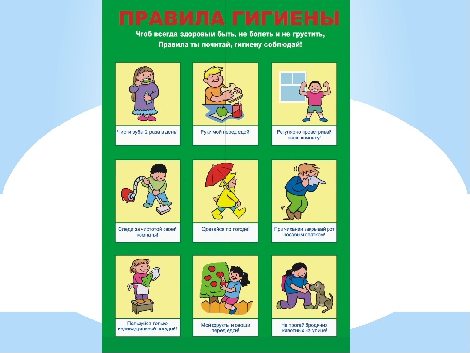 Правила гигиены питания для детей и подростков - 10 основных принципов