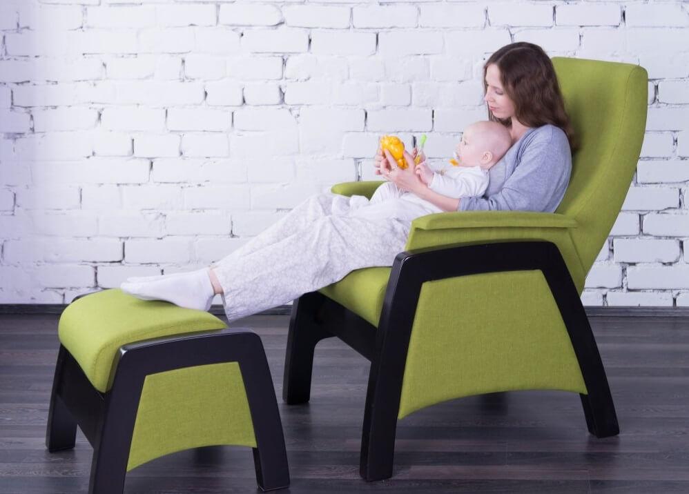 Кресла для кормления ребенка для мамы - виды моделей