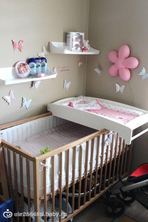 Пеленальный столик своими руками для младенца: из комода, складной, настенный
