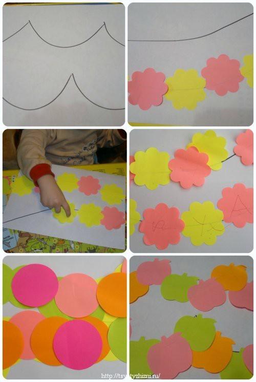 Конспект занятия по аппликации в младших группах детского сада (первой и второй): животные, светофор, фрукты и другие темы, фото, видео