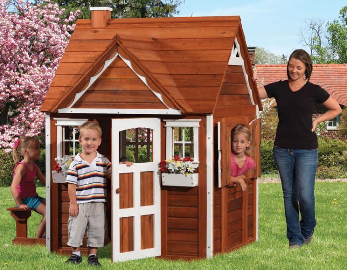 3 мастер-класса, как построить детский домик на участке