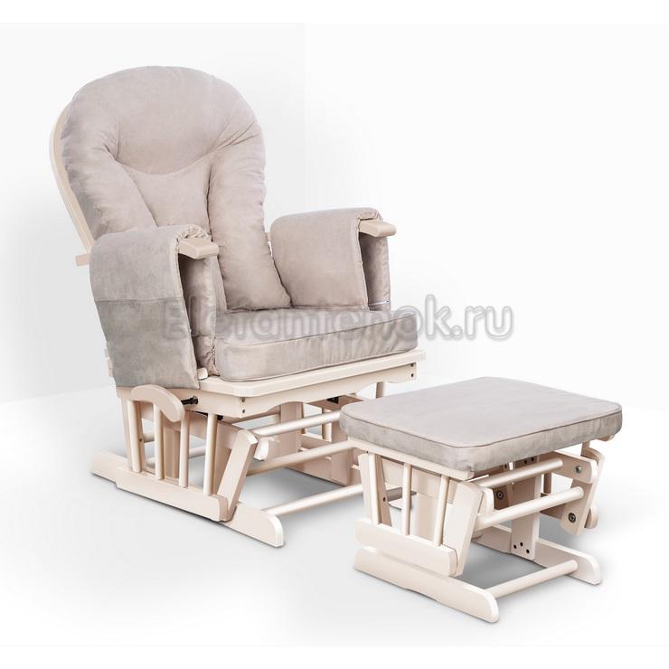 Кресло-качалка: комфортный способ кормления ребенка