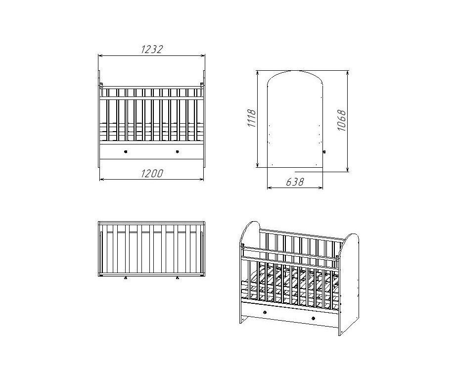 Лучшие детские кроватки для новорожденных: маятником, рейтинг