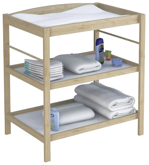 Пеленальный столик своими руками: настенный откидной, складной и другие конструкции