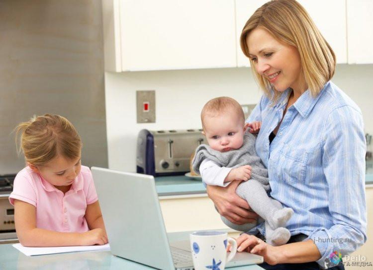 Как работать в декрете. и возможно ли это вообще?   parent-portal.ru