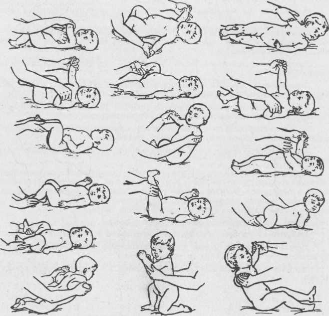 Лечебный массаж и гимнастика в раннем детском возрасте - инсайт медикал киев позняки