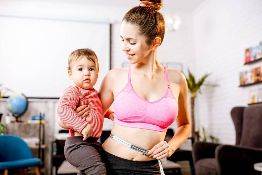 Как быстро похудеть после родов   - medside.ru