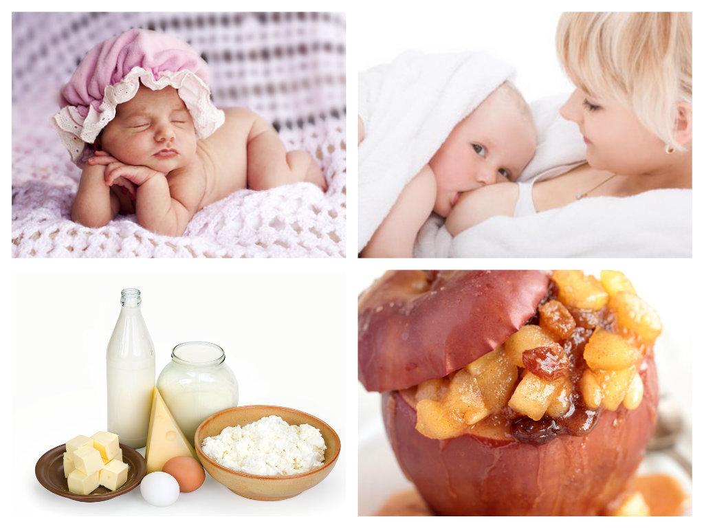 Что попадает в грудное молоко из маминой еды