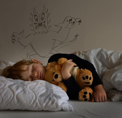 Страх и ужас во сне: откуда берутся ночные кошмары — блог викиум