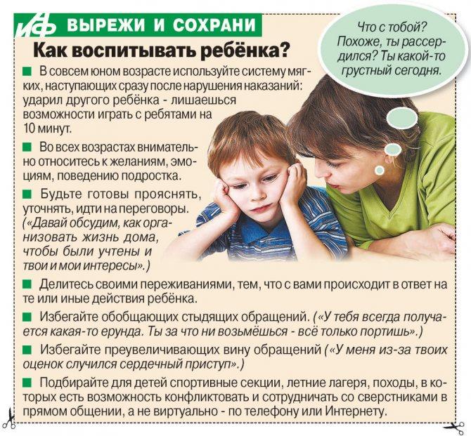 Как противостоять детским манипуляциям