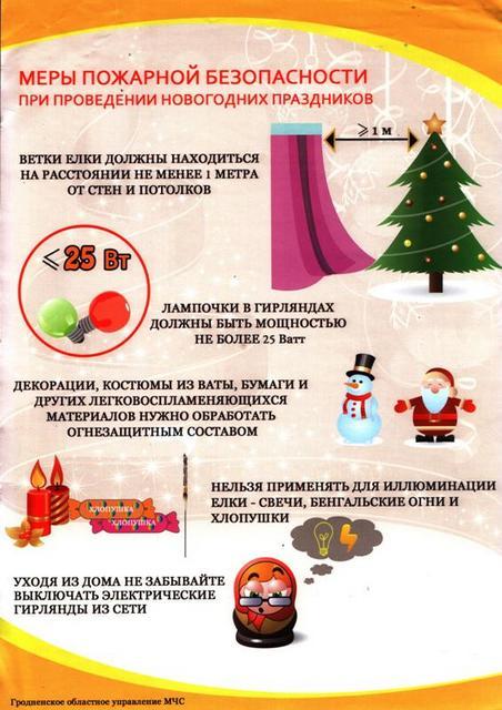 Как предотвратить опасности новогодних праздников для ребенка