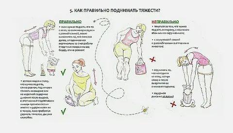 Сколько кг можно поднимать беременным на ранних сроках