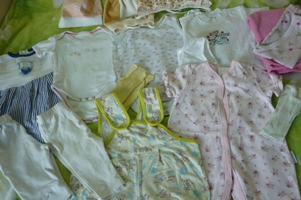 Список вещей для новорожденного зимой