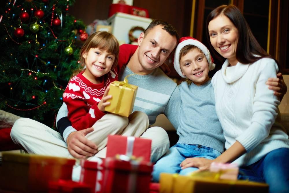 Как встречать новый год с новорожденными детьми