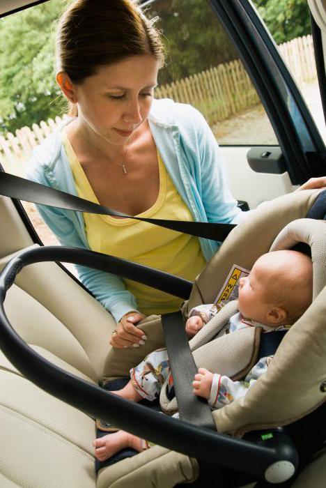 Как можно перевозить грудного ребенка в машине в 2018 году