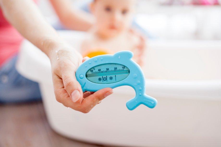 Температура воды для комфортного купания новорожденного