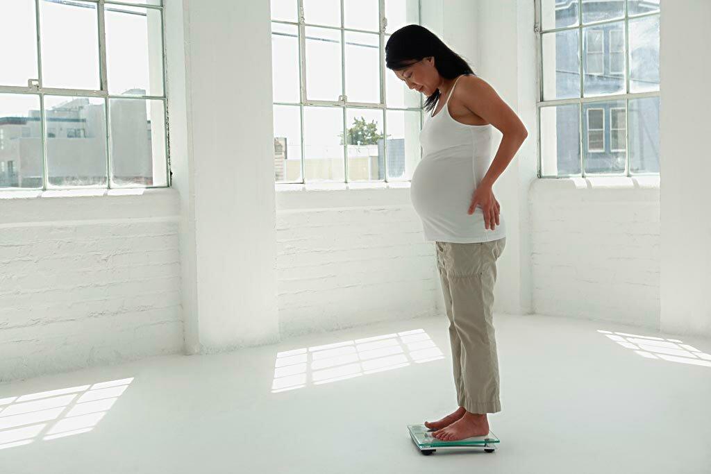 Как суметь непоправиться вовремя беременности