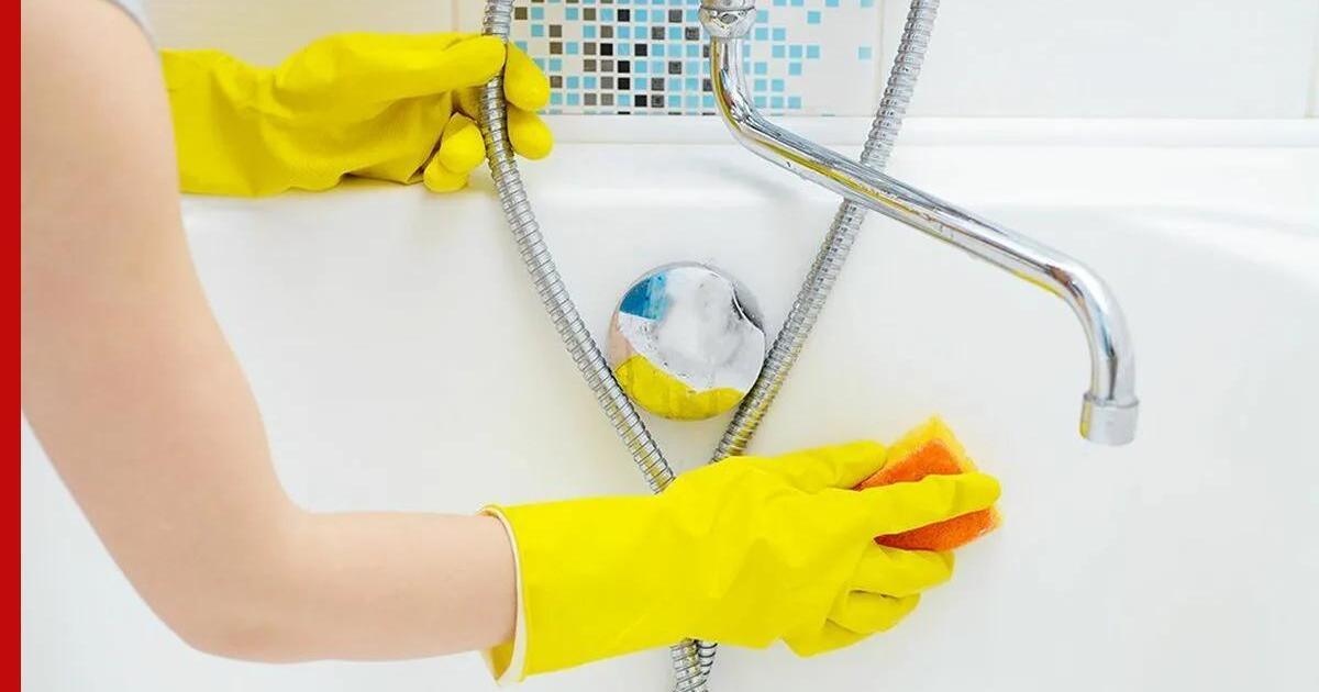 Чем мыть ванну перед купанием грудничка комаровский