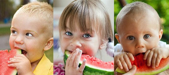 С какого возраста можно арбуз детям: польза, как кушать, как выбрать