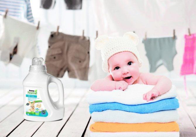 Чем стирать вещи для новорожденного? – при какой температуре и на каком режиме