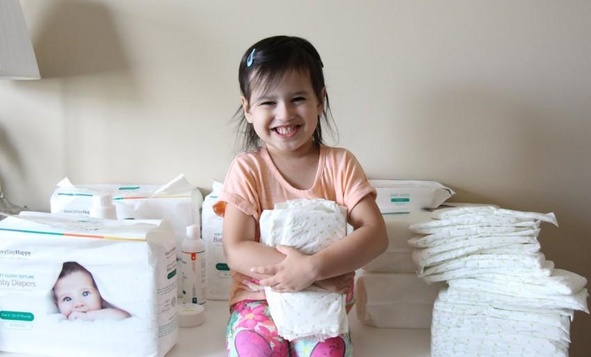 Отучить ребенка от памперса