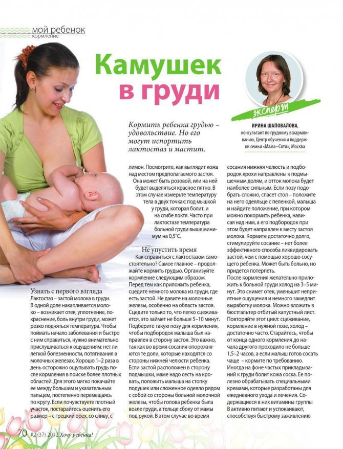 Массаж груди при лактостазе у кормящих мам