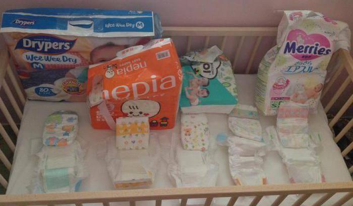 Сколько нужно подгузников новорожденному в день?   babynappy