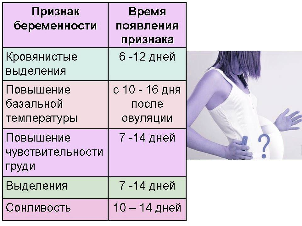 Признаки беременности на ранних сроках: 4 первых симптома