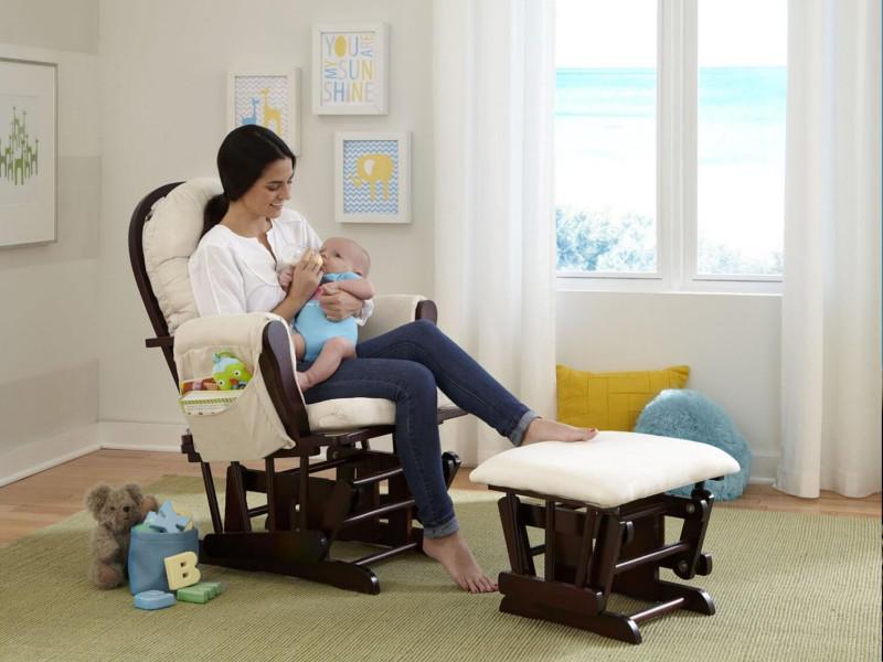Кресла-качалки для кормящих мам: модели и особенности кресел, как выбрать, популярные бренды