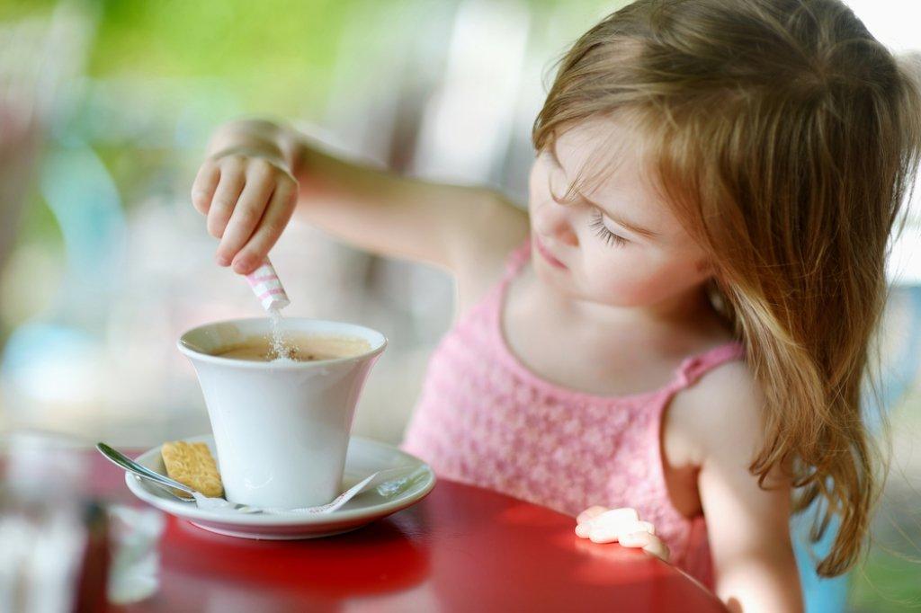 Какао в рационе питания ребенка