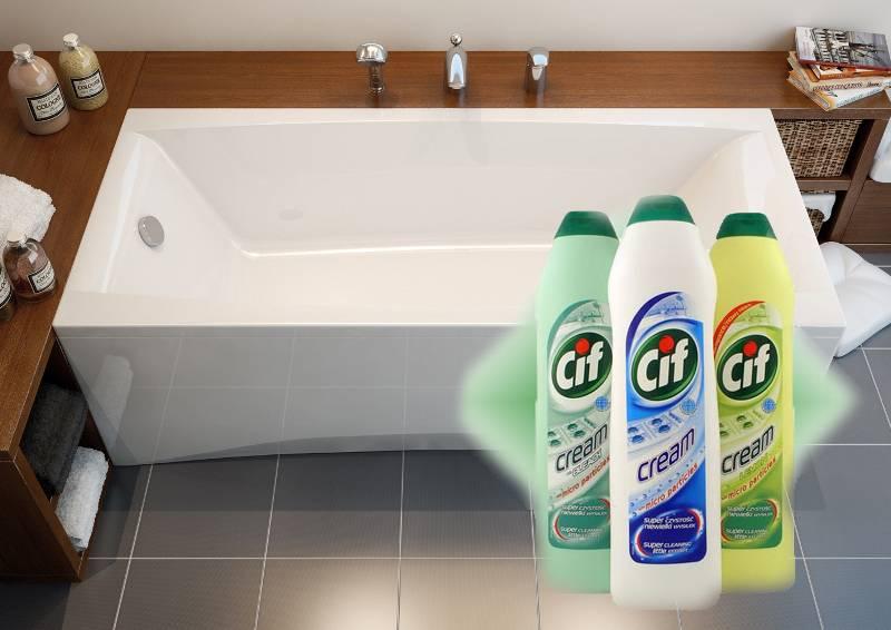 Чем мыть ванну перед купанием взрослого