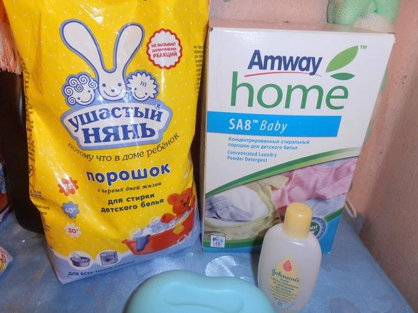 Чем стирать детские вещи для новорожденного: порошок, режим, температура
