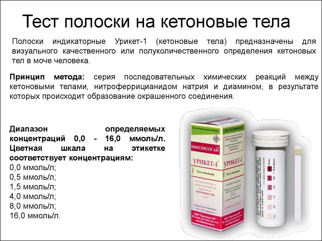 Анализы на ацетон