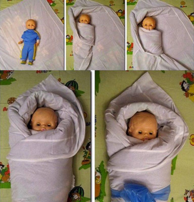 До какого возраста пеленать новорожденного ребенка
