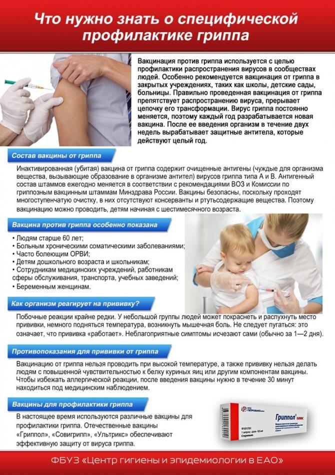 ➤ высокая температура у ребенка после прививки акдс