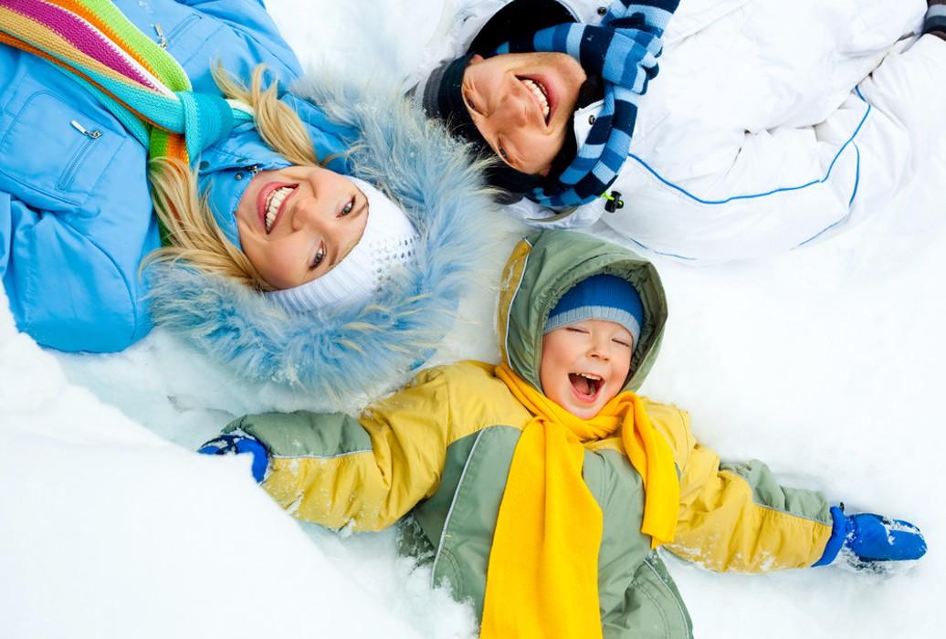 Новогодние каникулы сдетьми: как весело использой провести время