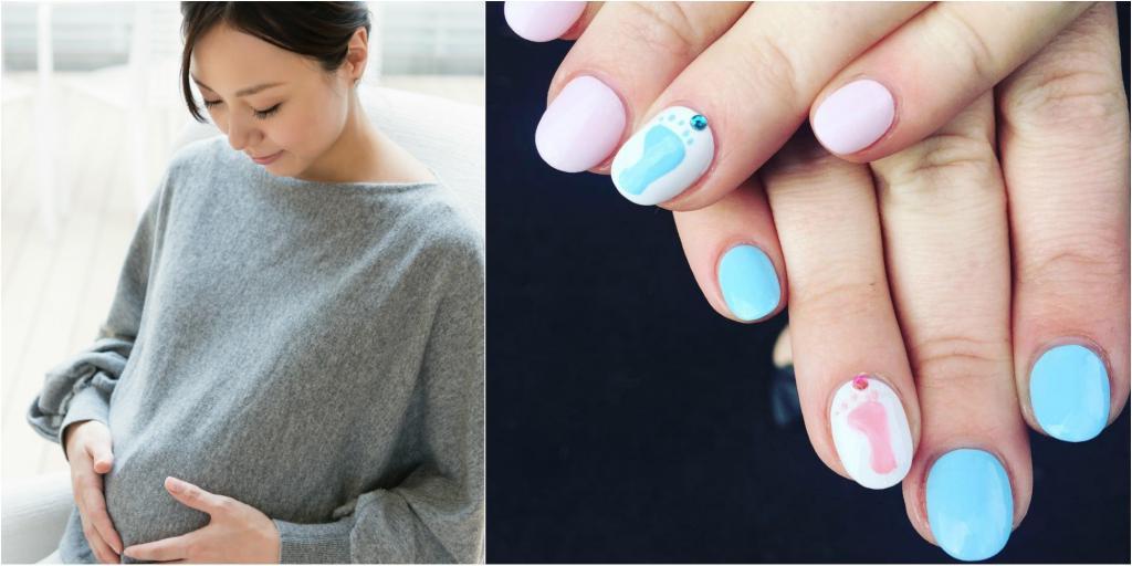 О шеллаке для беременных: можно ли делать, вредно ли красить ногти