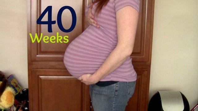 40 неделя беременности: предвестники, стимуляция и начало родов